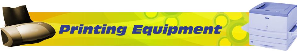 Printing-Equipment Catalog