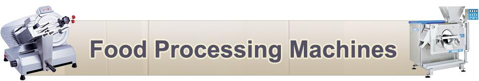 Food-Processing-Machines Catalog